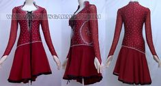 hot sale latin dancing apparels,quality latin competition dance outfits:LD-SG160