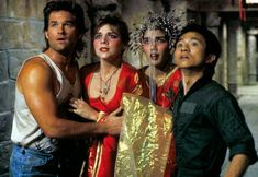 Big Trouble in Little China on Sky Movies - John Carpenter's comedy action adventure starring Kurt Russell and Kim Cattrall. Sci Fi Movies, Horror Movies, Good Movies, Movie Tv, Kim Cattrall, Kate Burton, Kino Box, James Hong, Dennis