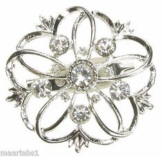 #Silver brooch #diamante broach vintage shoe cake #decoration pin bridal - new - ,  View more on the LINK: 	http://www.zeppy.io/product/gb/2/181107154044/