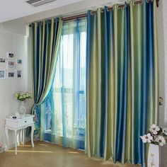 Free Shipping -- European style Window Curtains For Living Room/bedding Room ,Blue/Purple/Coffee 140*250cm --- http://www.aliexpress.com/