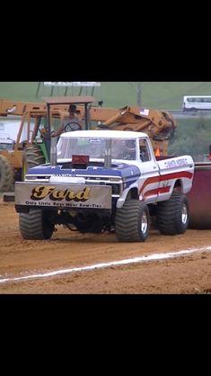 79 Ford Truck, Ford Pickup Trucks, Ford 4x4, Chevy Trucks, Truck And Tractor Pull, Tractor Pulling, Cool Trucks, Big Trucks, Full Pull