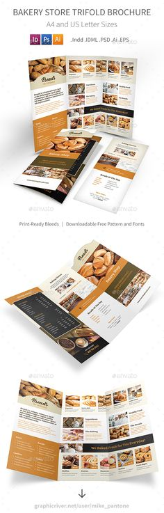 Check out new work on my @Behance portfolio  - coffee shop brochure template