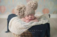 Crochet Baby Hats Crochet Baby Hat/ Newborn Photography by nicolesbreastfriend...
