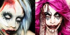 Amazing Yet Scary Halloween Make Up Ideas & Looks For Girls 2013/ 2014