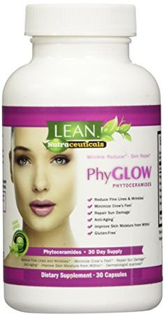 Top Rated Phytoceramides 350mg Capsules - PhyGLOWTM Glute...