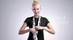16 Modi per Indossare una Sciarpa