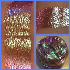 """from Chaos Cosmetics Chaos Cosmetics : """"Lucidity"""" Extreme Color Morphing GEL Liner/ Eyeshadow - Iridescent - Chaos Cosmetics (Cruelty Free) Shimmer Eyeshadow, Cream Eyeshadow, Eyeshadows, Shadow Video, Serum, Loose Pigments, Magical Makeup, How To Apply Eyeliner, Gel Liner"""