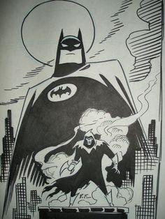 Bruce Timm - Batman ; Mask of Phantasm, in AleksandarDordevski's Bruce Timm Comic Art Gallery Room - 352844
