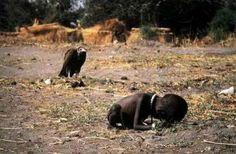 Premio Pulitzer de fotografía de 1994  Otorgado a Kevin Carter por su foto en la que una niña sudanesa se derrumba ante la presencia de un buitre