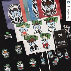 I am so ready for the EXIT TOUR. Which KRUNK is your favorite?  #Repost @ygeshop with @repostapp.  이번 WINNER 2016 EXIT TOUR  #WINNER X #KRUNK 굿즈들입니다!  너무 귀여움   #WINNER #KRUNK #2016EXITTOUR #SEOUL #SEUNGYOON #TAEHYUN #SEUNGHOON #MINO #JINWOO #위너 #강승윤 #남태현 #송민호 #이승훈 #김진우 by krunk_official
