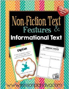 This unit focuses on non-fiction text features and Informational Writing. It provides you all of the resources to successfully teach your students how to write a non-fiction piece. There are colorful anchor charts with matching reinforcement activities to deepen the understanding of each concept.