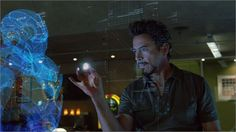 An Iron Man Like 3d Hologram Controlled by Leap Motion and T