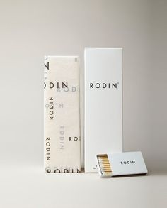 Rodin: love the simplicity, font, and pattern