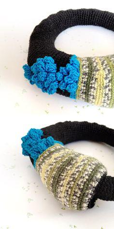 Crochet Gourmette blossom écossais par ulani sur Etsy