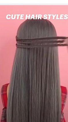 Unique Braided Hairstyles, Bun Hairstyles, Updos For Medium Length Hair Tutorial, Best Friend Photography, Hair Remedies, Hair Bows, Braids, Long Hair Styles, Thick Hair