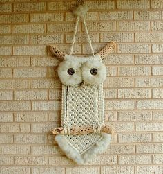 My mom made something very similar to this in the seventies. I want to learn how to make one of these to put in my house.