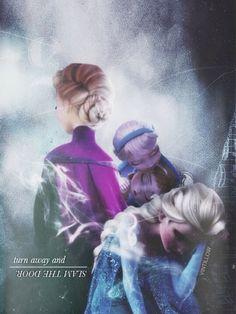 Frozen~Elsa turn away Disney Dream, Disney Love, Disney Magic, Disney Art, Disney Stuff, Frozen And Tangled, Elsa Frozen, Disney Frozen, Frozen Heart