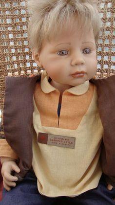ZAPF BOY MAX BY BRIGITTE PAETSCH RARE DOLL in EXCELLENT CONDITION   eBay