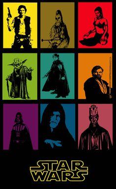 Star Wars popart