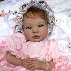Reborn Toddler Dolls, Reborn Baby Girl, Reborn Dolls, Reborn Babies, Dolls Dolls, Real Life Baby Dolls, Cute Baby Dolls, Lifelike Dolls, Realistic Dolls