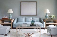 Designer: Tobi Fairley | Neue Sofa | Laura Kirar Collection | Baker Furniture