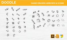 Free Hand Drawn Icons and Vectors