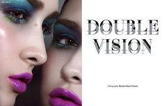 Double Vision by Marina Dean-Francis for Blowe magazine