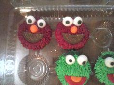 Cupcakes Plaza Sesamo