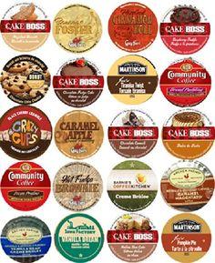 20 Cup Devine DESSERT Flavored Coffee Sampler! Spiced Rum Cake, Italian Rum Cake, Pumpkin Pie, Cinnamon Roll ++ Delicious! 20 UNIQUE Flavors! Custom Variety Pack http://www.amazon.com/dp/B00KP3VAZ6/ref=cm_sw_r_pi_dp_Hazoub1V4ESEW