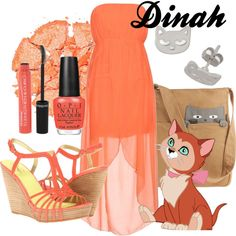 """Dinah"" by amarie104 on Polyvore"