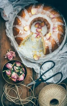 Recipe to make Greek Yoghurt Olive Oil Cake with Orange Blossom Glaze. A lovely end-of-summer treat that can be baked all year long. | Baked - the Blog