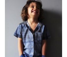 Boys shirt by French designer Anton et Zea  available at www.claradeparis.com