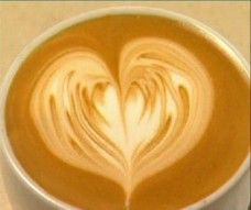 Here's the step-by-step way to create a heart latte art design on your cappuccino.