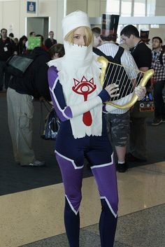 Sheik, The Legend of Zelda: Ocarina of Time, photo by FirstPerson Shooter.
