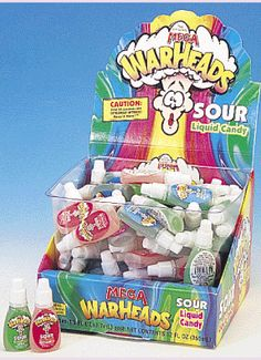 mega warheads sour liquid candy - Google Search