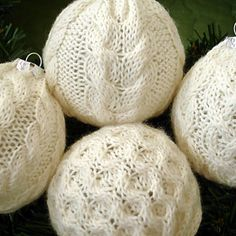 Recycle old sweaters!,I might just do all my ornaments in fabric that looks vintage for a country look