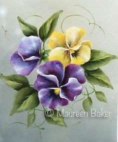 The Decorative Painting Store: Pansy Pansy Pansy Pattern PDF ...