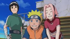 Naruto SAKURA AND ROCK LEE