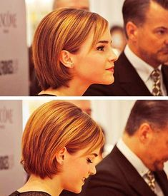 Emma Watson Bob Cute Hairstyle
