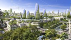 Paris is one of the world's most beautiful cities, with its landmarks, parks and the cobbled roads of Montmarte the envy of the world. Architectural progress can sometimes meet opposition when a city's iconic sights and historic look is challenged, but architects Vincent Callebaut's vision of a green, sustainable Paris is so gorgeous, it makes the glorious French capital looking even more magical.