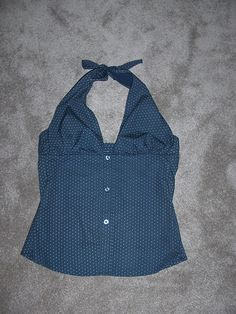 man dress shirt to cute halter