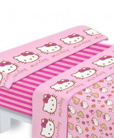 Hello Kitty (sábanas)  24€ - Antes 50€  Campaña disponible hasta el lunes 14 de mayo de 2012