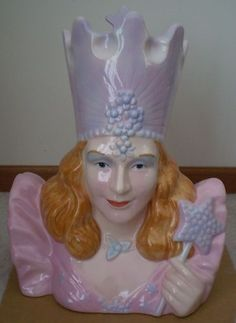 Wizard of Oz Good Witch Glinda Limited Edition of 1939 Cookie Jar by Star Jars/Treasure Craft