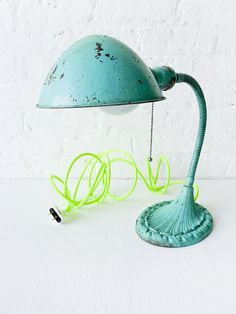 old lamp new color cord