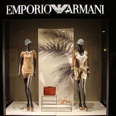 """EMPORIO ARMANI,Italy, """"Shades of Summer"""", pinned by Ton van der Veer"""