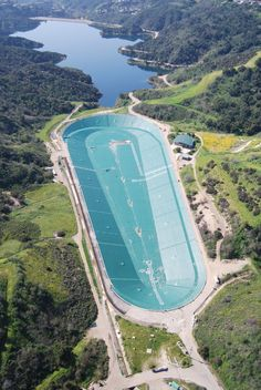 LADWP's Upper Stone Canyon Reservoir Returns to Service with Newly Installed Floating Cover Ucla Campus, Safe Drinking Water, West Los Angeles, Water Powers, Water Management, Pacific Palisades, Water Resources, Water Storage, Water Quality