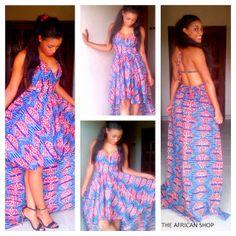 Sahima Dress by THEAFRICANSHOP on Etsy. #Africanfashion #AfricanWeddings #Africanprints #Ethnicprints #Africanwomen #africanTradition #AfricanArt #AfricanStyle #AfricanBeads #Gele #Kente #Ankara #Nigerianfashion #Ghanaianfashion #Kenyanfashion #Burundifashion #senegalesefashion #Swahilifashion DK