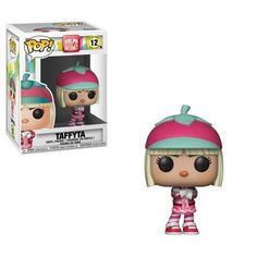 Funko Pop Wreck-It Ralph 2 Taffyta Pop! Vinyl Figure video game villain with a heart of gold is back and the adventures continue with Ralph Breaks the Internet. This Wreck-It Ralph 2 Wreck-It Taffyta Pop! Funk Pop, Wreck It Ralph, Vanellope Y Ralph, Pop Disney, Funko Pop Dolls, Funko Toys, Pop Figurine, Pop Toys, Geek Stuff