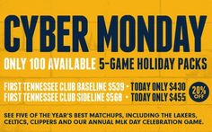 Grizzlies Cyber Monday Offer