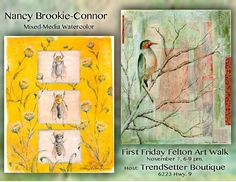 November 2014 Artist Nancy Brookie-Conner